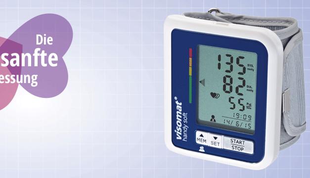 Máy đo huyết áp cổ tay Visomat handy soft (có sạc)