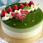 Bột trà xanh – Cách làm bánh sinh nhật siêu hấp dẫn