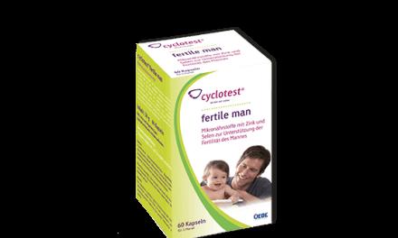 Hỗ trợ khả năng sinh sản cho nam giới Cyclotest fertile man