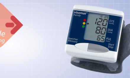 Máy đo huyết áp cổ tay Visomat Handy