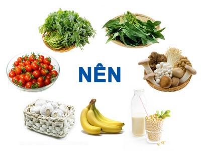 Người bị cao huyết áp nên ăn gì?
