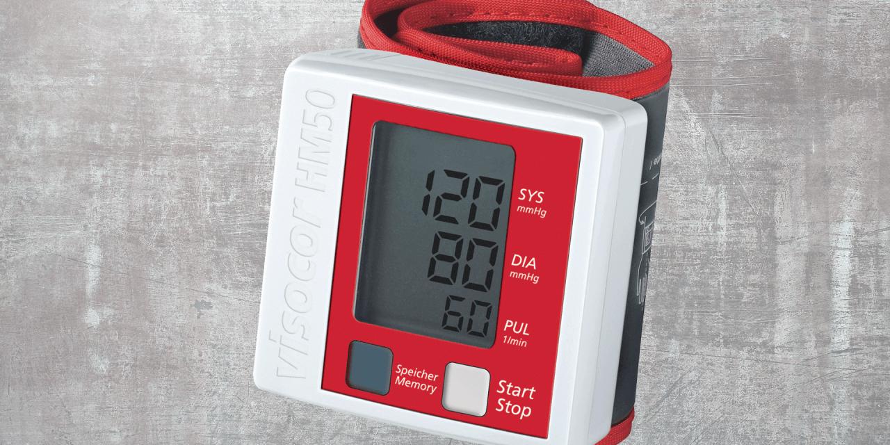 Máy đo huyết áp của Đức Visocor, Visomat