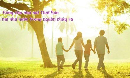 Những câu nói hay về dạy con cái của cha ông xưa